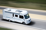 Windscreens and accessories for A-class motorhomes
