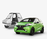 Windscreens and accessories for microcars